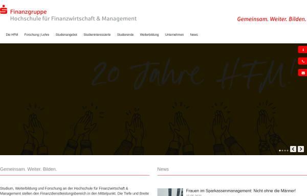 Vorschau von www.s-hochschule.de, Hochschule der Sparkassen-Finanzgruppe Bonn