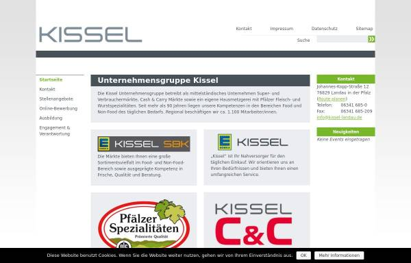 Vorschau von freykissel.org, Frey und Kissel - Wilh. Schacherer GmbH+Co. KG