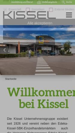 Vorschau der mobilen Webseite freykissel.org, Frey und Kissel - Wilh. Schacherer GmbH+Co. KG