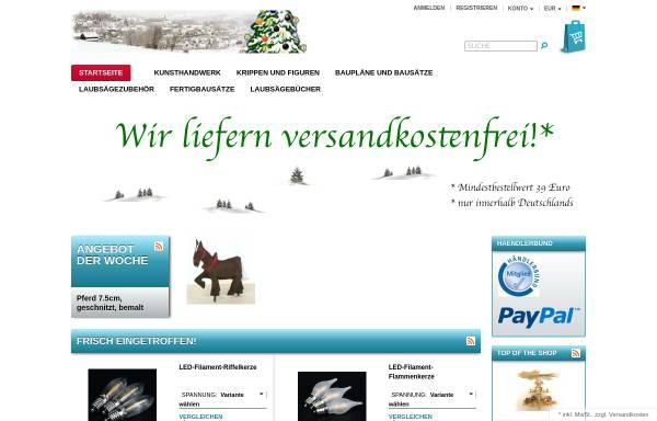 Vorschau von erzgebirgsversand.com, Erzgebirge Versand GbR