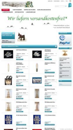 Vorschau der mobilen Webseite erzgebirgsversand.com, Erzgebirge Versand GbR