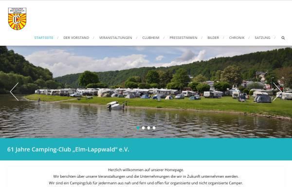 Vorschau von www.cc-elm-lappwald.de, Camping-Club