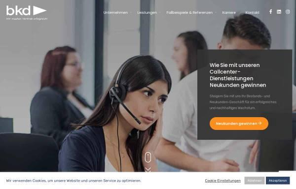 Vorschau von www.bkd.de, BKD GmbH