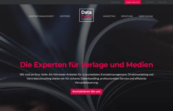 Vorschau von www.datam-services.de, DataM-Services GmbH