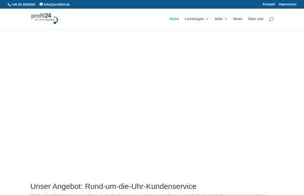 Vorschau von www.profil-dienstleistungen.de, Profil-Dienstleistungen