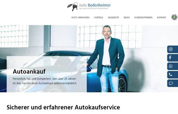 Vorschau von www.auto-bodenheimer.de, Auto Bodenheimer GmbH