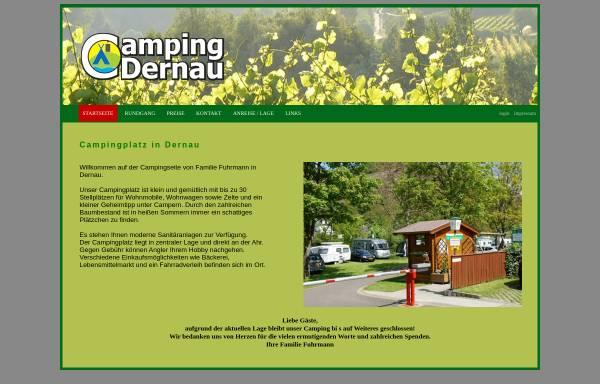 Vorschau von www.camping-dernau.de, Camping Dernau
