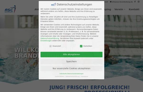 Vorschau von www.asc-brandenburg.de, ASC Brandenburg