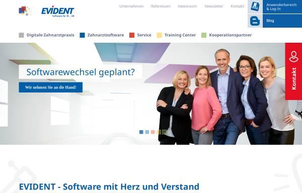 Vorschau von www.evident.de, Evident GmbH