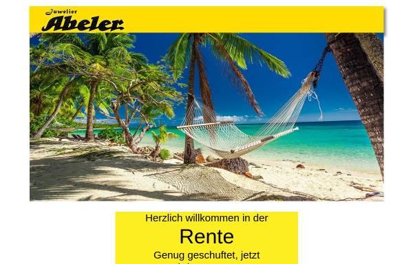 Vorschau von www.juwelier-abeler.de, Juwelier Abeler