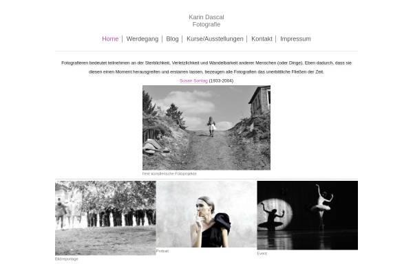 Vorschau von www.dascal.de, Karin Dascal