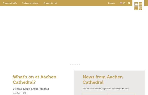 Vorschau von www.aachenerdom.de, Aachener Dom