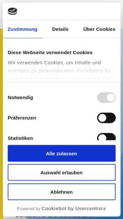Vorschau der mobilen Webseite www.crefeldensis.de, Schlaraffia Crefeldensis e.V.