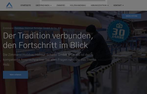 Vorschau von www.zimmerei-schaefer.de, Zimmerei Schäfer