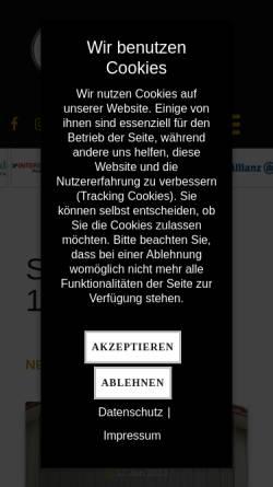 Vorschau der mobilen Webseite www.sv13herste.de, Sportverein 1913 Herste e.V.