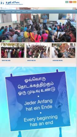 Vorschau der mobilen Webseite www.uthawi.net, Uthawi