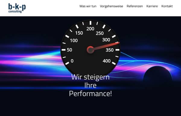 Vorschau von www.b-k-p.de, Buchele & Kremer Produktivitätsberatung GmbH