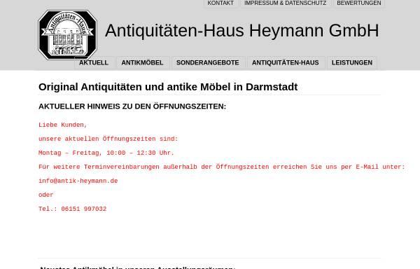 Antiquitaten Haus Heymann Gmbh In Darmstadt Wirtschaft Darmstadt
