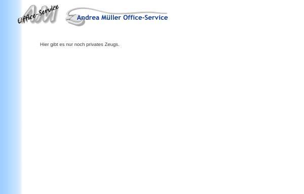 Vorschau von www.am-os.de, Andrea Müller Office-Service