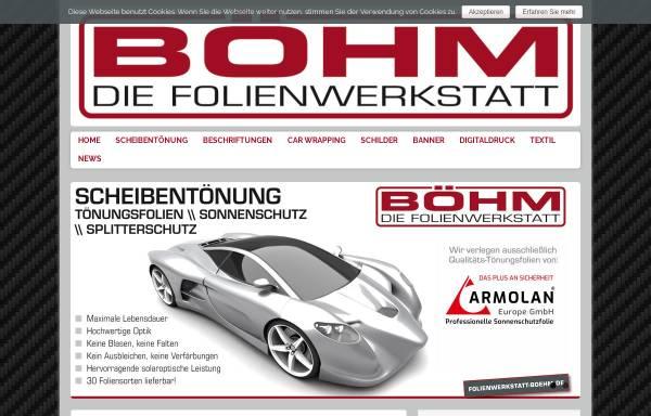 Vorschau von www.cardesign-boehm.de, Cardesign-Boehm