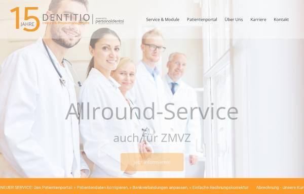 Vorschau von www.d-dd.at, Dentito Dentale