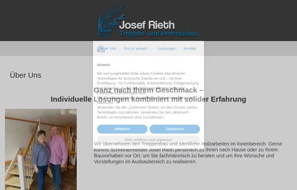 Vorschau von rieth-treppenbau.de, Josef Rieth Treppen- und Innenausbau