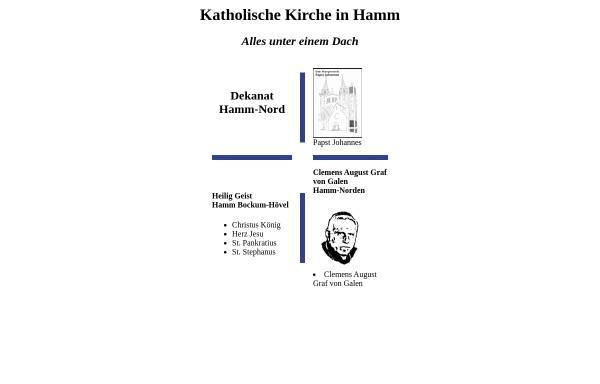 Vorschau von www.kath-hamm.de, Katholische Kirche in Hamm
