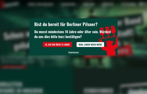 Vorschau von www.berliner-pilsner.de, Berliner Pilsner, Berliner-Schultheiss-Brauerei GmbH