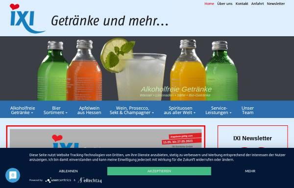 iXi Getränkemarkt GmbH in Frankfurt am Main: Nahrungs- und ...