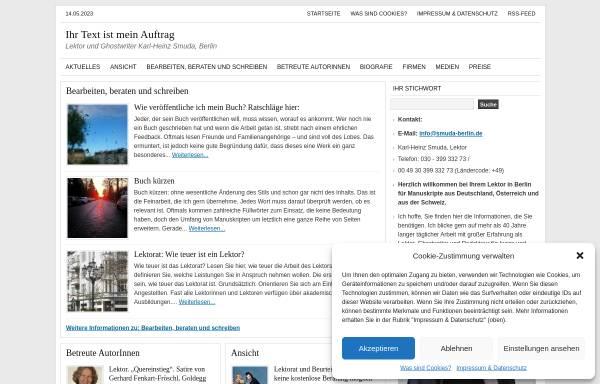 Vorschau von www.smuda-berlin.de, Karl-Heinz Smuda
