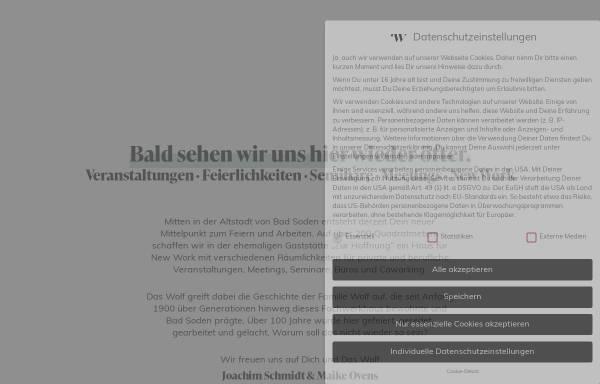 Vorschau von www.zurhoffnung.de, Bistro-Gaststätte Zur Hoffnung