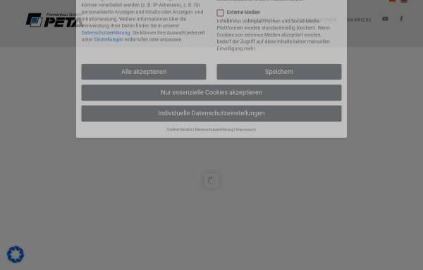 Vorschau von www.peta-formenbau.de, PETA Formenbau GmbH