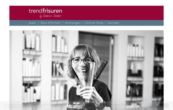 Vorschau von www.trend-frisuren.at, Trend-Frisuren - Susanne Schreiber