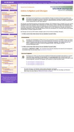 Vorschau der mobilen Webseite www.aufgaben.schubert-verlag.de, Online-Aufgaben des Schubert Verlags
