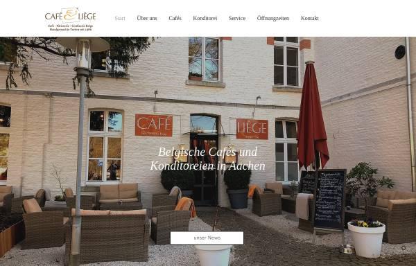 Vorschau von www.cafe-liege.de, Aachen-Marktplatz