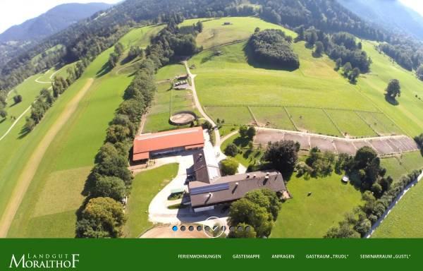 Vorschau von landgut-moralthof.de, Reitanlage Moralthof