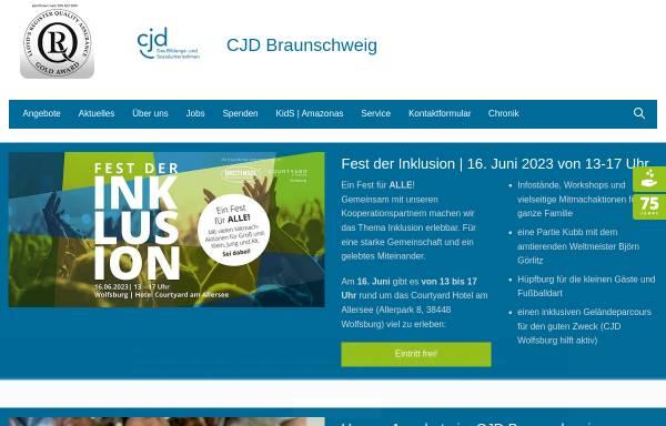 Vorschau von www.cjd-braunschweig.de, CJD Jugenddorf - Christophorusschule Braunschweig