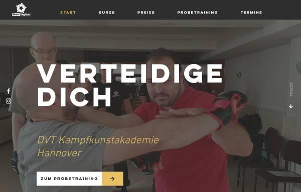 Vorschau von dvt-hannover.de, DVT Kampfkunstschule Hannover