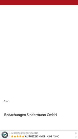 Vorschau der mobilen Webseite dachdecker-dortmund.de, Bedachungen Sindermann & Krajewski GmbH