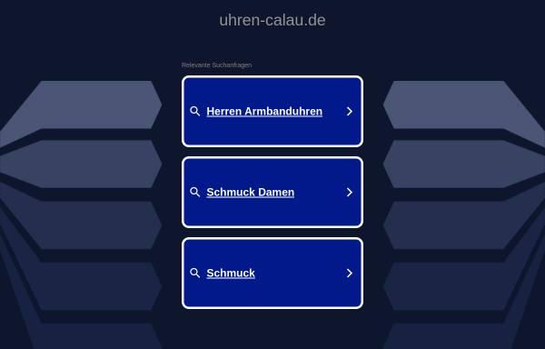 Vorschau von www.uhren-calau.de, Reinhard und Dagmar Hemmerling GbR