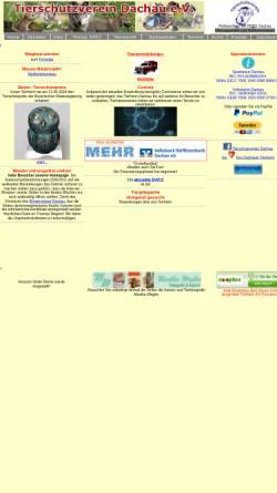 Vorschau der mobilen Webseite www.tierschutz.dachau.net, Tierschutzverein Dachau