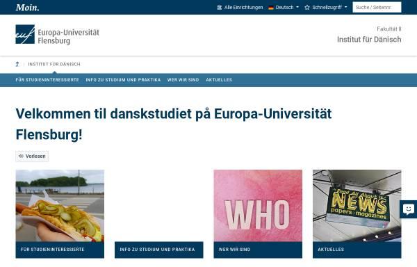 Vorschau von www.uni-flensburg.de, Universität Flensburg (Deutschland)