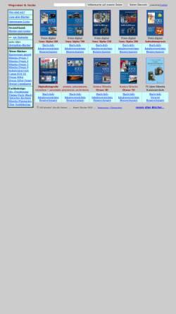 Vorschau der mobilen Webseite www.scheibel.de, Bücher zu Minolta Kameras
