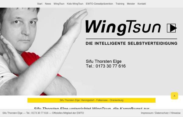 Vorschau von www.sifu-elge.de, EWTO-Schule Thorsten Elge