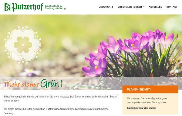 Vorschau von www.putzerhof.net, Baumschule Putzerhof
