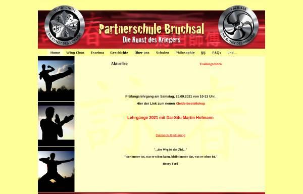 Vorschau von www.wt-bruchsal.de, EWTO-Zentrum Bruchsal