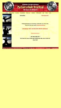 Vorschau der mobilen Webseite www.wt-bruchsal.de, EWTO-Zentrum Bruchsal