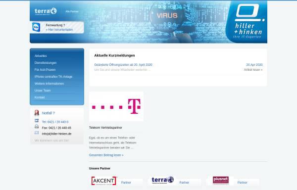 Vorschau von www.hiller-hinken.de, Hiller & Hinken GmbH