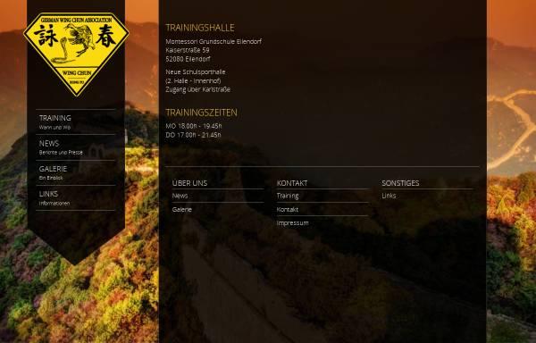 Vorschau von www.wingchun-germany.de, German Wing Chun Association e.V.