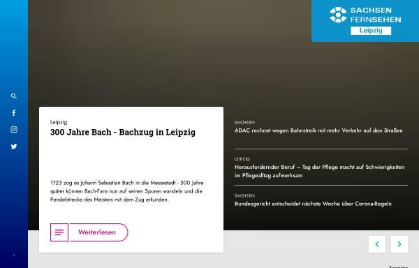 Vorschau von www.sachsen-fernsehen.de, LF- Leipzig Fernsehen